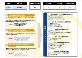 業界CPC別施策チェックシート