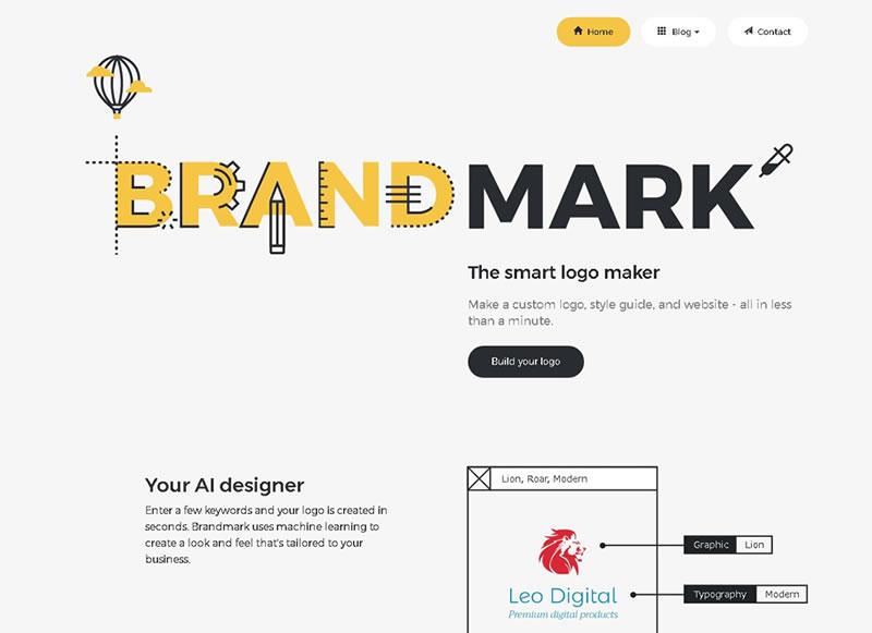 AIがロゴを提案してくれる「Brandmark」を使ってみた!