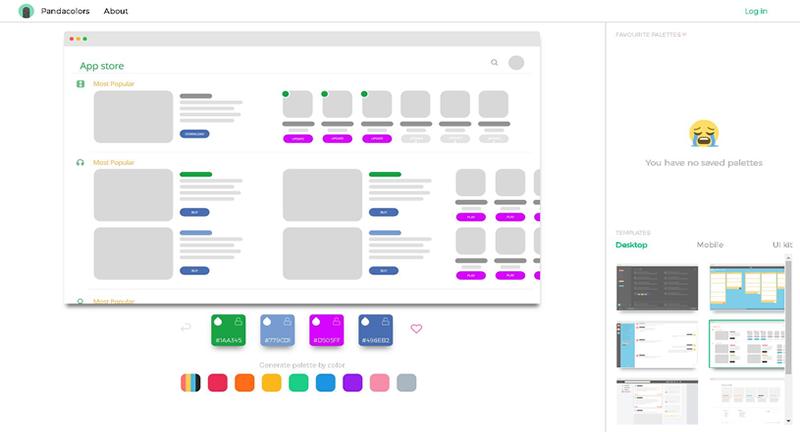 いろんなレイアウトでサイトカラーを試せる「Pandacolors」をつかってみた!